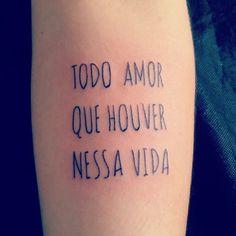 Instagram media @mari_pietro #tattoofeminina #tatuagemfeminina #tattoo #escrita
