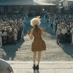 Effie Trinket in Catching Fire at the reaping. November 22nd needs to hurry up!