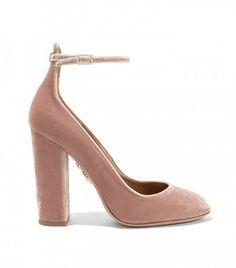 Aquazurra Alix Velvet Pump, I need these!!!!