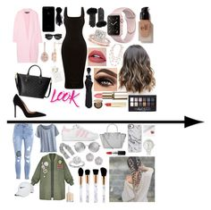 """Work vs Casual"" by lilyalicewalker ❤ liked on Polyvore featuring Rochas, Gianvito Rossi, Gucci, Surell, KOCCA, Alexander McQueen, Karine Sultan, e.l.f., Allurez and Marc Jacobs"