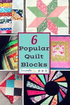 Quilt Block Party!: 6 Popular Quilt Block Patterns
