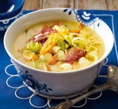Deftige Winterküche: Steckrüben-Curry-Suppe