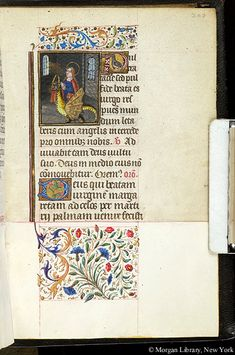 Book of Hours, MS S.5 fol. 207r - Images from Medieval and Renaissance Manuscripts - The Morgan Library & Museum