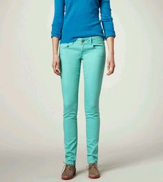 American egale auqa skinny jeans. I want a pair so bad, but can you wear them into fall??