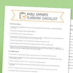 baby shower to do list baby shower decoration ideas