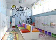 Оформление раздевалки в детском саду 2