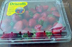 Strawberries Store in Container fab frug
