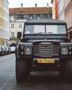 """The Garage Classics """"Yours can go fast, this one can go anywhere Land Rover V8, Land Rover Models, Land Rover Series 3, Land Rover Defender, Range Rover Jeep, Automobile, Range Rover Classic, Off Road Adventure, Vintage Sports Cars"""
