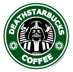 Death Starbucks by Reis O'Brien. Hahaha yesssssssssss!!!!!!!!!!