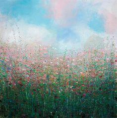 """Saatchi Online Artist Sandy Dooley; Painting, """"Winter Greens"""" #art"""