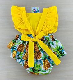 Baby Dress Patterns, Baby Clothes Patterns, Baby Kids Clothes, Newborn Girl Outfits, Little Girl Dresses, Kids Outfits, Cute Kids Fashion, Baby Girl Fashion, African Dresses For Kids