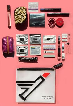 How to pack the perfect on-the-go bag. Read more on the #Sephora Glossy.