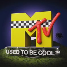 MTV Logo from the 90's recreated in 3D by Christian Schalauka. Once upon a time there was a revolutionary TV station which used to keep me up many nights. I hooked my audio cassette recorder into the headphone jack of the TV and recorded the freshest music available. Between the music videos they used to have this beautiful idents playing in the craziest ways with the MTV logo. That was 25 years ago.