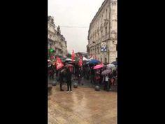 Manifestation contre la loi du travail Angoulême