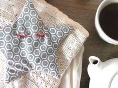 DIY tuto Bouillotte sèche étoilée cocooning