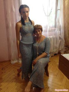 Летние наряды для дочки и мамы
