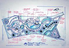 17 Ideas landscape design plans resort for 2019 Landscape Architecture Drawing, Landscape Design Plans, Architecture Plan, Urban Landscape, Landscaping Design, Site Development Plan Architecture, Conceptual Architecture, Romanesque Architecture, Architecture Sketches
