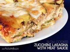 Crock pot zucchini lasagna