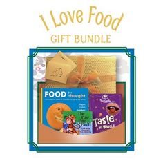 I Love Food - Gift Bundle - Age 2 and up - Includes Food for Thought (hardcover book), Taste My World (DVD) and The Paw Paw Patch (CD). This bundle contains a book, DVD, and CD that teach little ones about fruits and vegetables and how to make them fun and delicious. $42.95