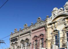 Bridge Road facades Richmond Melbourne, Melbourne Australia, My Town, Old Buildings, Facades, Old Houses, Bridge, Louvre, River