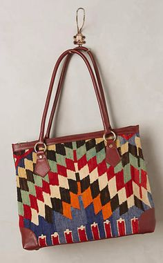 One-of-a-Kind Kilim Tote #anthrofave