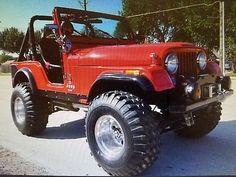 eBay: 1976 Jeep CJ 1976 Jeep CJ-5 BIG RED #jeep #jeeplife