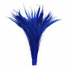 "Peacock Swords Bleach Dyed - Royal  Product SKU: PS25B Size: 15-25"" (right & left side tail) Shop Feathers: www.featherplace.com"