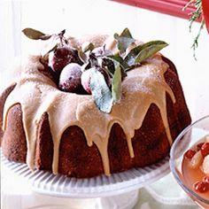 Chocolate-Bourbon Pound Cake @keyingredient #cake #chocolate