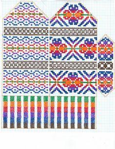 Ravelry: Sharripie's Scatness Mittens Knitted Mittens Pattern, Fair Isle Knitting Patterns, Knit Mittens, Knitting Charts, Knitted Gloves, Knitting Socks, Hand Knitting, Stitch Patterns, Crochet Patterns