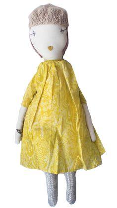 Jess Brown Rag Doll // poppyscloset.com #gifts