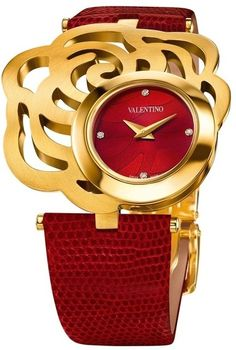 Rosamaria G Frangini   High Watch Jewellery   Radiant in Red   Valentino