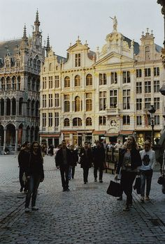 Brussels, Belgium. The place where I did the Cotton-eyed Joe and other foreigners joined in. My best memory.