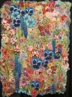 Flowers of the Vine by Frances Holliday Alford.  This is so far from my usual aesthetics, but I have fallen in love with this beauty.