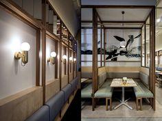悉尼So 9餐厅空间设计 | BrandWorks 设计圈 展示 设计时代网-Powered by thinkdo3