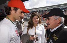 Roger  F ,  Mirka     und    Robert      --   Estoril    Moto   GP