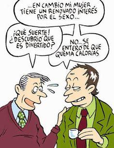 El Cosmos de Yoma: Chiste: interés por el sexo Spanish Jokes, Spanish Phrases, Humor Grafico, Have A Laugh, Lol, Comics, Memes, Funny, Quotes