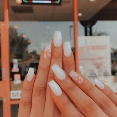 Acrylic Nails Coffin Short, Simple Acrylic Nails, Summer Acrylic Nails, Best Acrylic Nails, Acrylic Nail Designs, Acrylic Nails Almond Short, Pastel Nails, Pointy Nails, Gel Nails