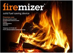 The award winning fuel saving device that optimizes the performance of fuel in solid fuel fires and stoves Fire Prevention Week, Blog Images, Did You Know, Knowing You, Stoves, Ovens, Bakeries