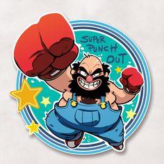 Little Mac, What To Draw, Logo Sticker, Video Game Art, Cool Artwork, Pop Art, Concept Art, Graffiti, Character Design