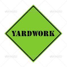 Realistic Graphic DOWNLOAD (.ai, .psd) :: http://jquery-css.de/pinterest-itmid-1006961997i.html ... Yardwork Sign ...  black, change, concept, diamond, garden, green, road, shape, sign  ... Realistic Photo Graphic Print Obejct Business Web Elements Illustration Design Templates ... DOWNLOAD :: http://jquery-css.de/pinterest-itmid-1006961997i.html