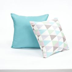 16 X 16 Solid Tiffany Blue Throw Pillow Cover by BHDecor on Etsy