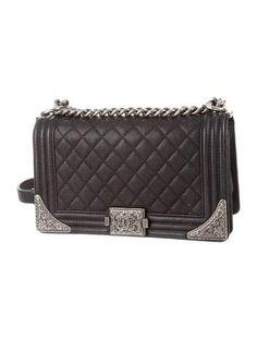 Medium Paris-Dallas Cowboy Boy Bag  ad Medium Paris, Quilted Leather,  Wristlets e42ce1e952