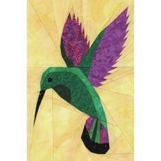 Mango Hummingbird Quilt Pattern
