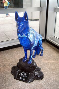 "DOGNY - ""Sirius"" by Allison Aboud, One Chase Manhattan Plaza, NYC 