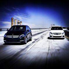 Power couple.   #MercedesBenz #BClass #ElectricDrive    #MBPhotoPass MBRDNA