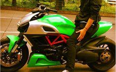 Custom & PaintJob Pictures - Diavel / xDiavel - Ducati Diavel Forum - Page 6 Ducati Diavel, Bike, Pictures, Image, Painting, Motorbikes, Bicycle, Photos, Painting Art