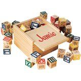 Miles Kimball Personalized Box Of Blocks @ bypersonaldesign.com