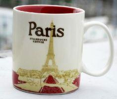 16oz Starbucks Collector's Mug France Paris City Series Coffee Mug | eBay