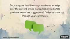 We bring to attention why the recent failure with Paypal has contributed in adding more value to the bitcoin transaction system.  Your one stop for Bitcoin Casino Visit - http://BitcoinCasinoAffiliate.com