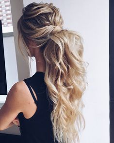 ponytail hairstyles #weddinghair #ponytails #wedding #hairstyles #ponytail #weddinghairstyles Bridal Hairstyles, Username, Elegant Wedding Hair, Updos, Weddings, Bride, Long Hair Styles, Beauty, Hair Dos